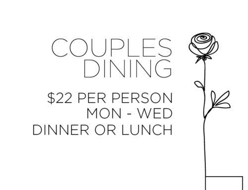 Rita's Couples Dining